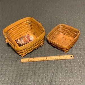 Longaberger berry baskets
